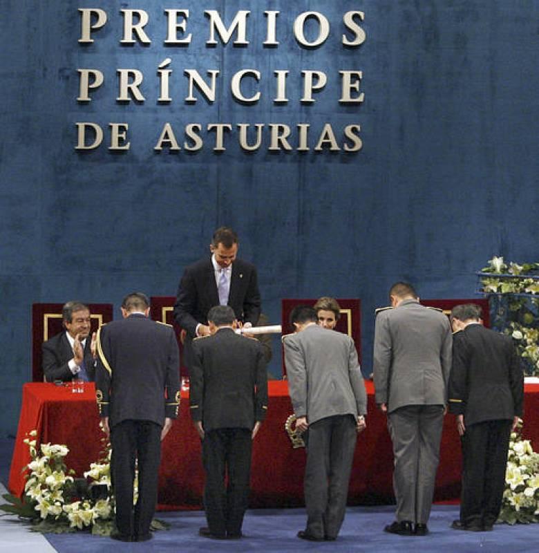 CEREMONIA DE ENTREGA DE LOS PREMIOS PRINCIPE DE ASTURIAS 2011
