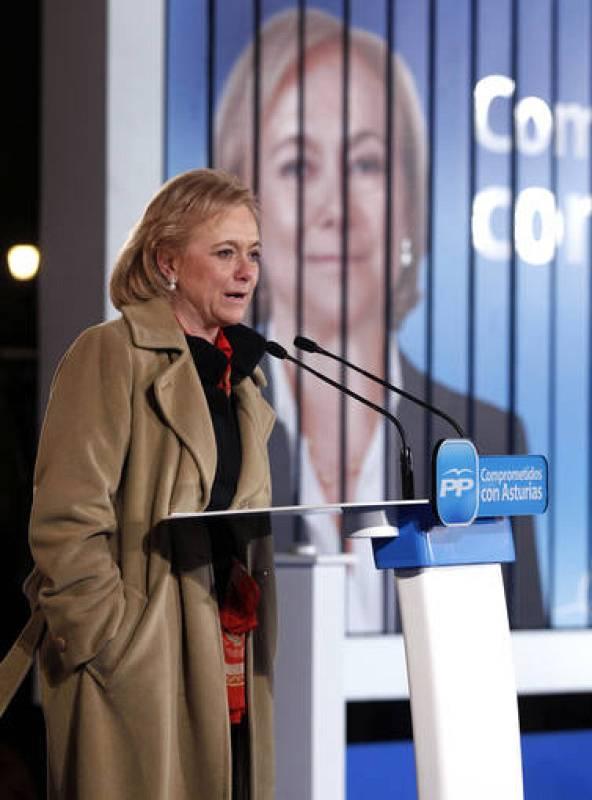 Mercedes Fernández, elecciones Asturias 2012