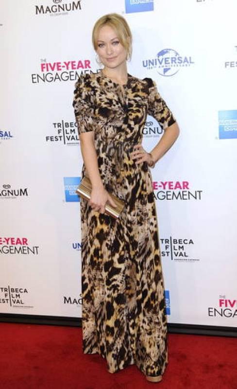 Olivia Wilde en la alfombra roja