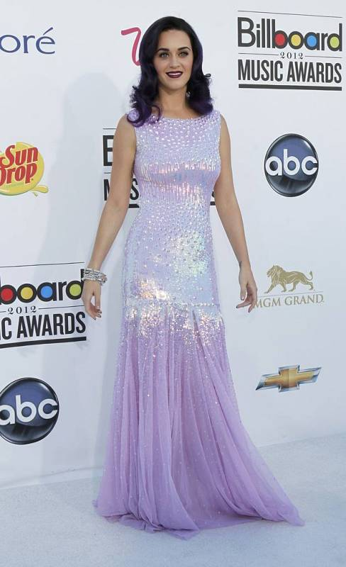 Katy Perry en los premios Billboard 2012