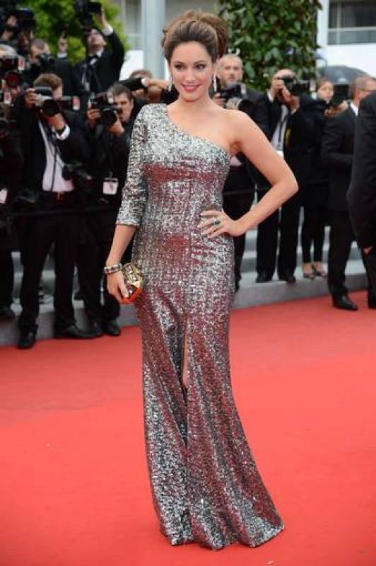 La modelo británica Kelly Brook  en Cannes