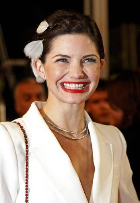Actrice Chaneac en Cannes
