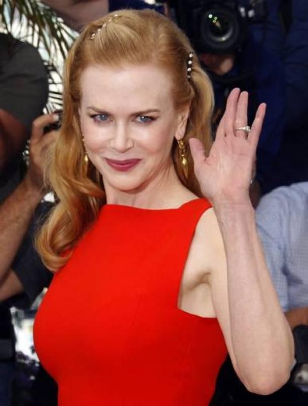 """Nicole Kidman durante el photocall de la película """"The Paperboy """", dirigida por Lee Daniels, en Cannes"""
