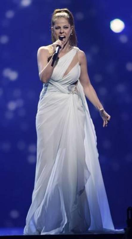 Pastora brilla en el ensayo general de Eurovisión