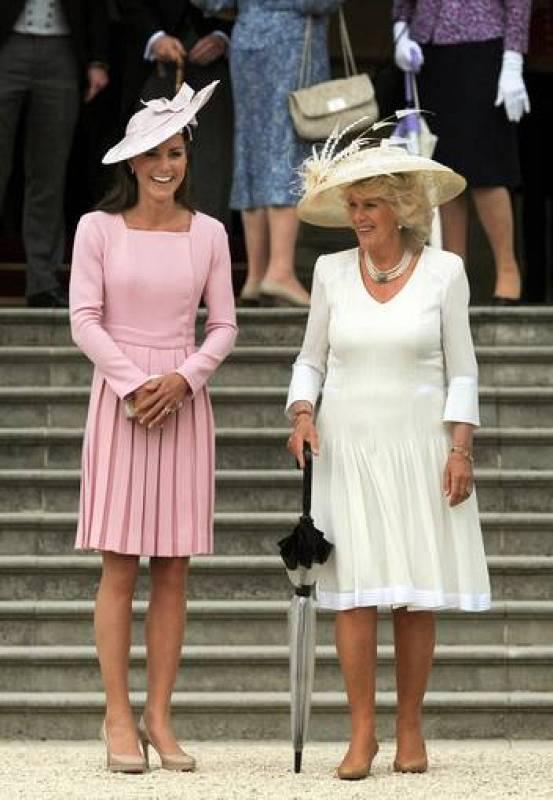 Hemos visto a la Duquesa de Cambridge haciendo muy buenas migas con la Duquesa de Cornualles