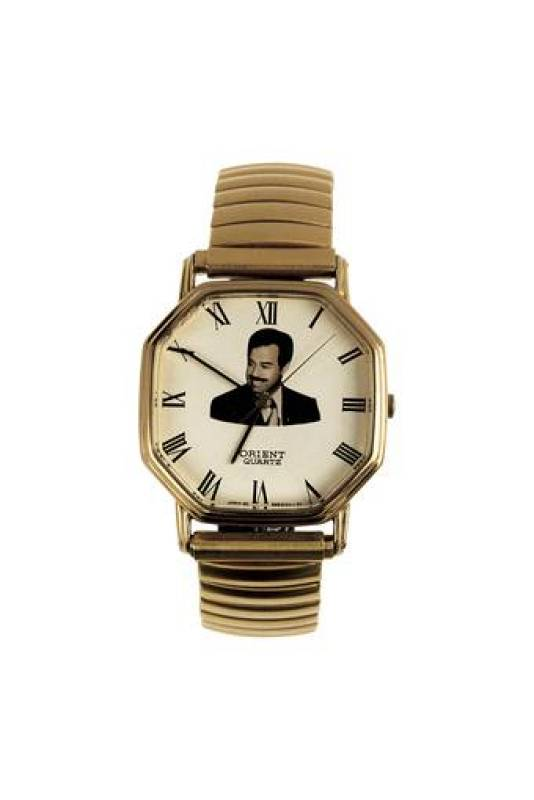 Reloj Saddam. Martin Parr collection.