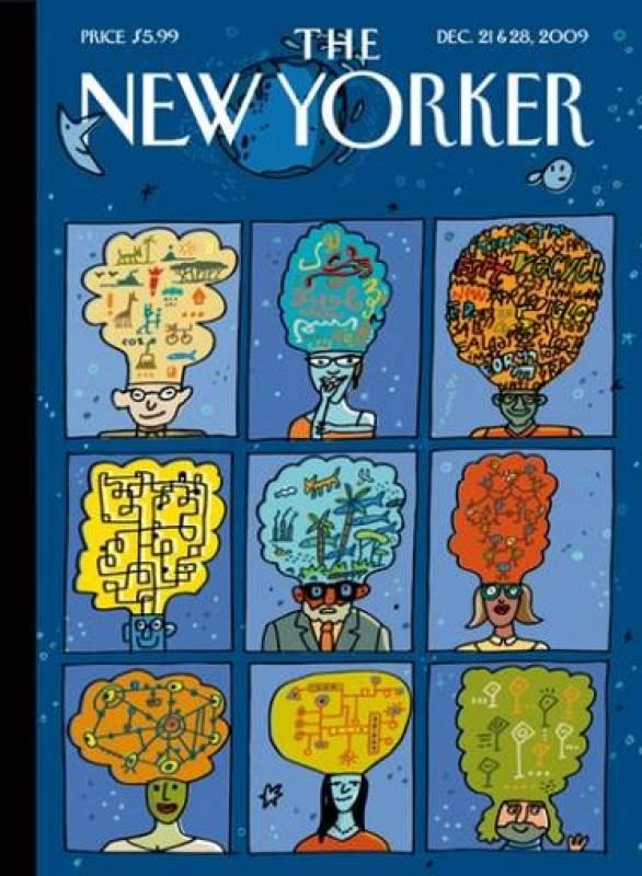 Portada de Javier Mariscal para 'The New Yorker' (2009)