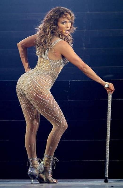 El trasero de Jennifer Lopez