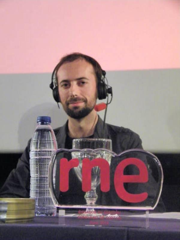 Nacho Rodríguez, finallista con 'A phaedophile'