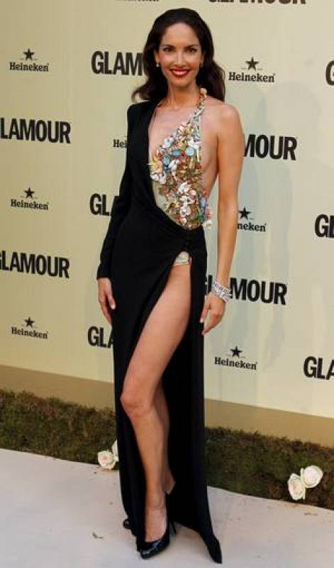 La modelo Eugenia Silva, premio Musas de la Moda Española,
