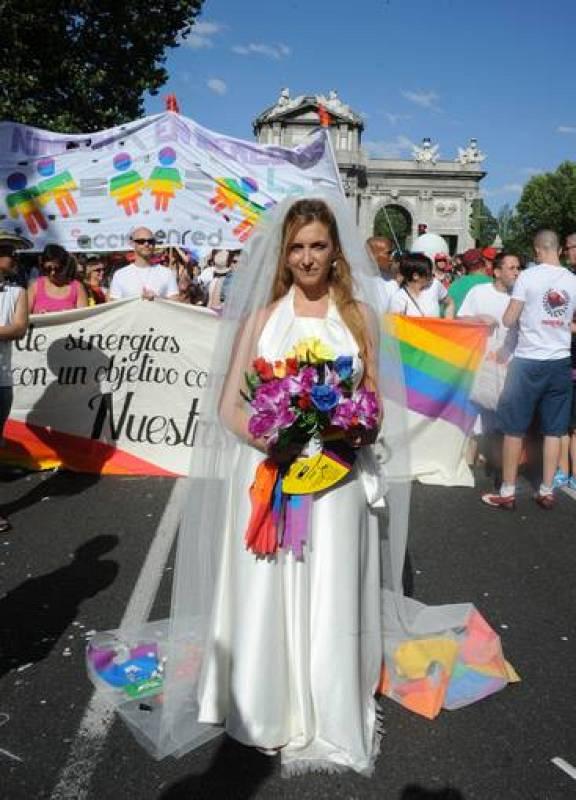 La marcha del Orgullo Gay reivindica el matrimonio igualitario