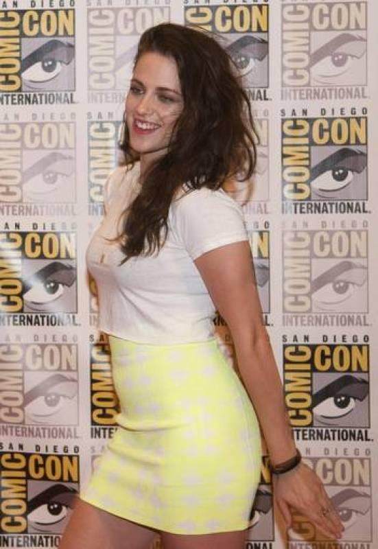 A la cita tampoco faltó la actriz Kristen Stewart, que interpreta a Bella Swan en 'Crepúsculo'.