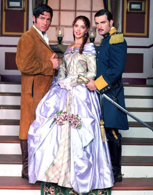 Manuel, Matilde y Adolfo en Amor Real