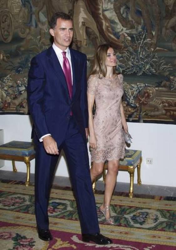 Esta cena ha sido el primer acto oficial de la Familia Real en Mallorca de este verano.