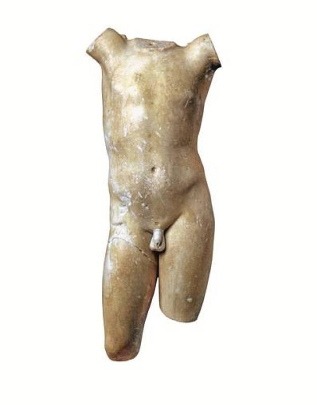 Torso de Eros. Finales del siglo I aC - I dC