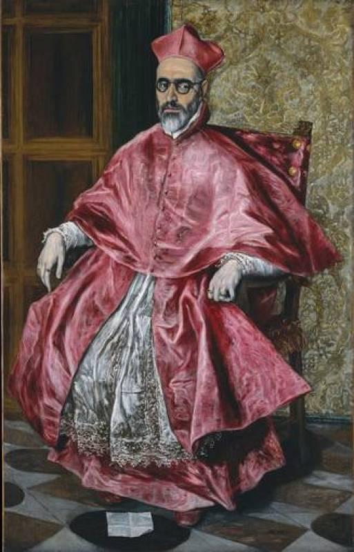 """El Greco, """"El Cardenal Fernando Niño de Guevara"""" (1600-1604)"""