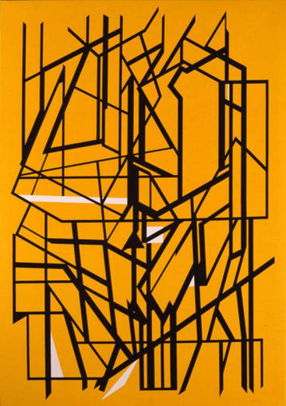 "Pablo Palazuelo, ""De Somnis II"", (1997)"