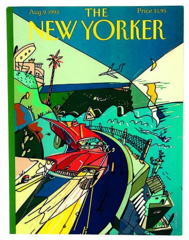 Mariscal. Portadas The New Yorker, 1993