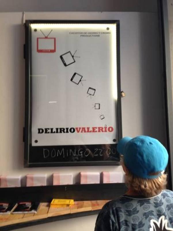 Cartel del estreno del programa 'Delirio Valerio'