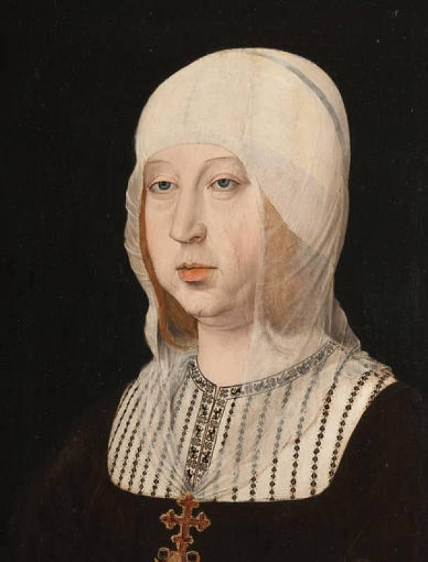 """Juan de Flandes, """"Retrato de Isabel la Católica"""", (1500-1504)"""