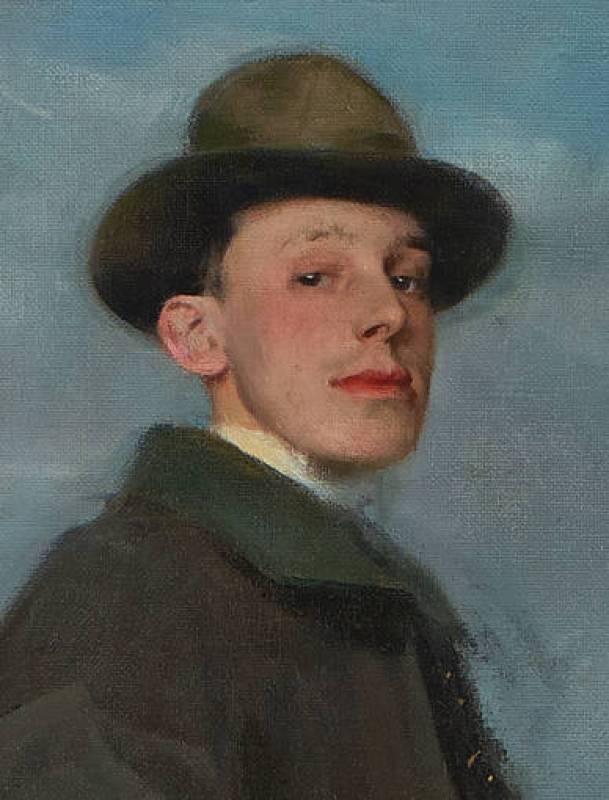 """Ramón Casas, """"Alfonso XIII a caballo"""", (1905)"""