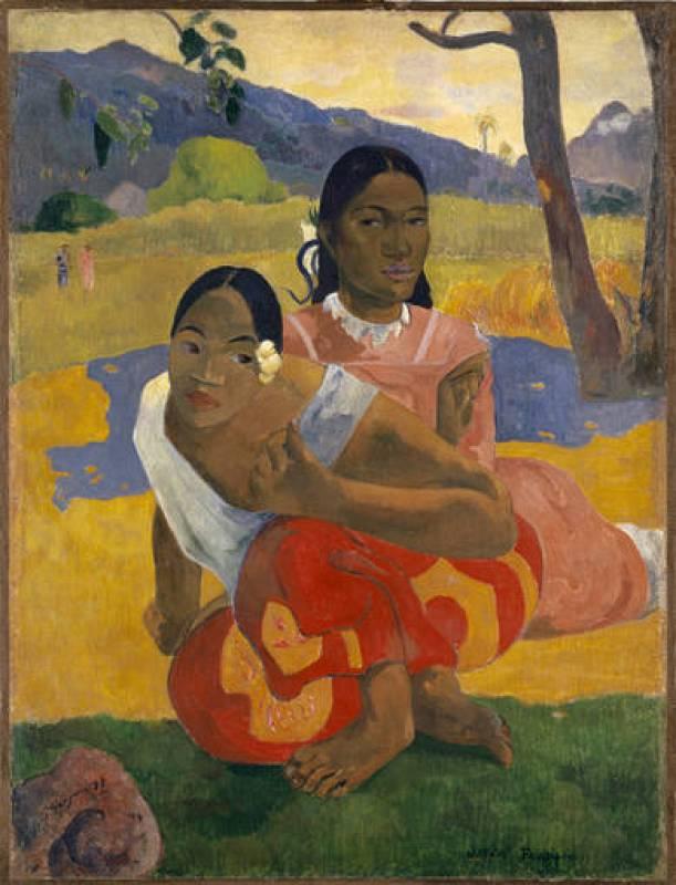 'NAFEA faa ipoipo (¿Cuándo te casas?)' (1892) Paul Gauguin.