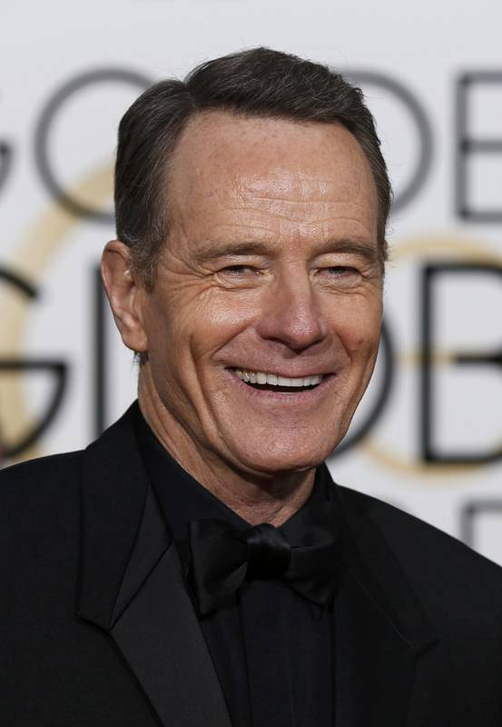 Actor Bryan Cranston arrives at the 73rd Golden Globe Awards in Beverly Hills