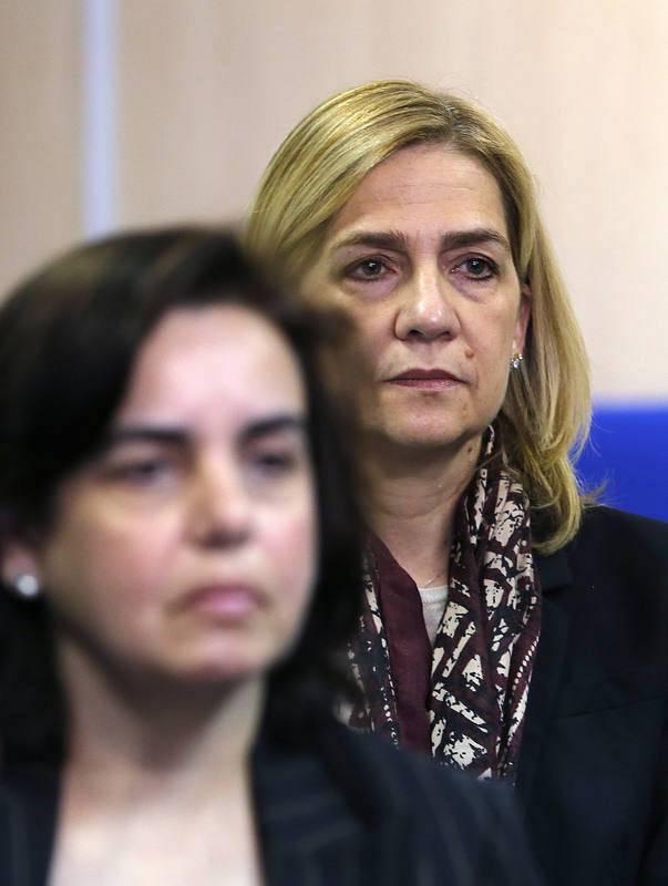 La infanta Cristina y la esposa del socio de Urdangarin, Ana María Tejeiro