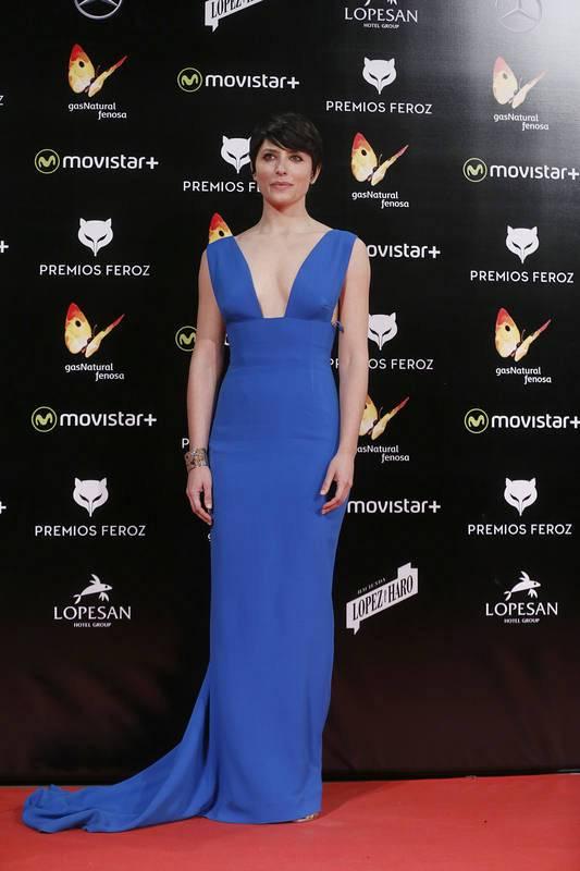 Bárbara Lennie, ganadora del Feroz en 2014 por 'Magical girl'.