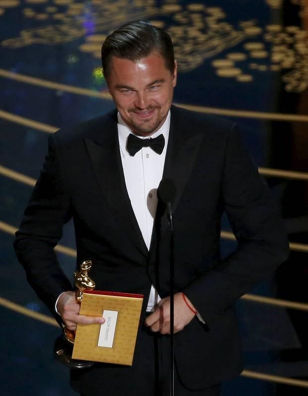 Leonardo DiCaprio ha ganado el Oscar al mejor actor por 'El renacido'.