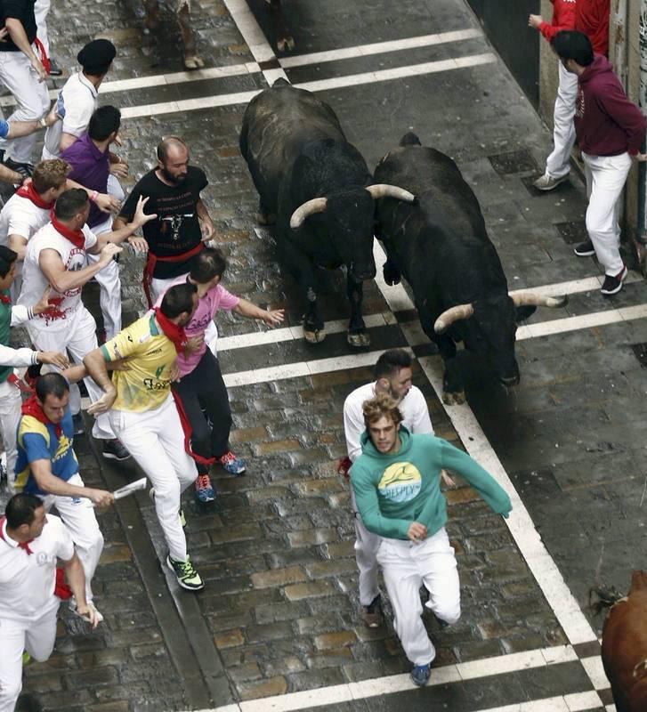 Los toros de la ganadería de Núñez del Cuvillo llevaban cuatro años sin correr en Pamplona
