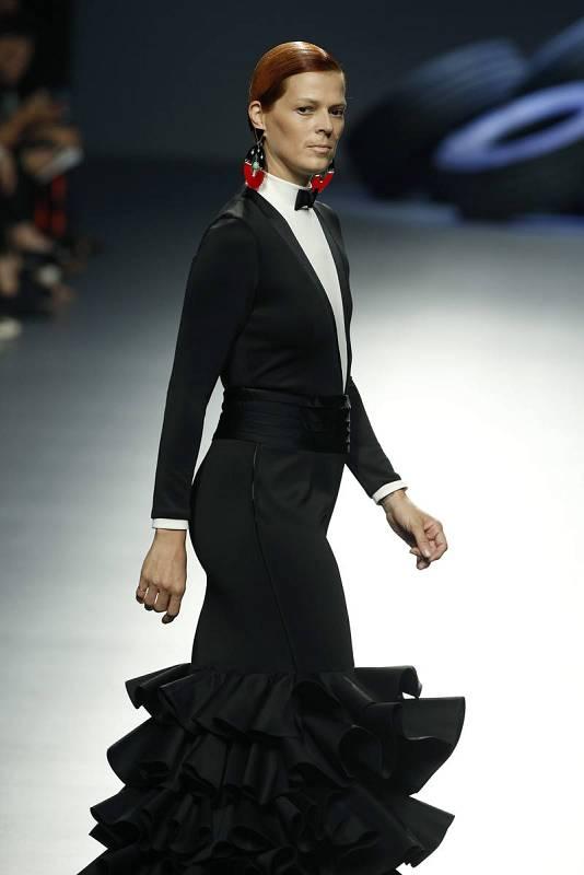 Bimba Bosé, en la Mercedes-Benz Fashion Week Madrid (MBFWM) de 2016.