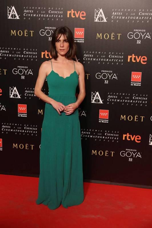 La actriz Bruna Cusí, nominada a mejor actriz revelación por 'Verano 1993'.
