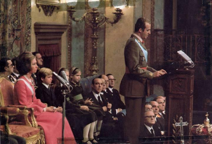 Proclamación del Rey Juan Carlos