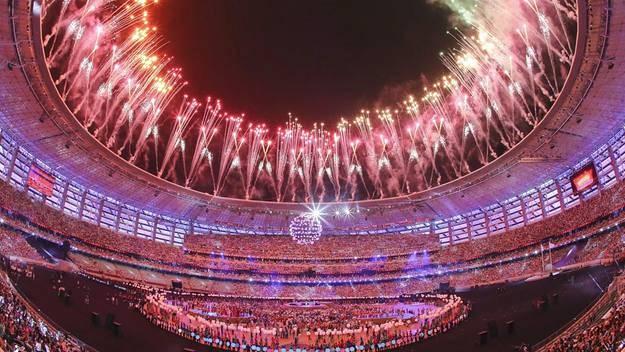 Clausura de los I Juegos Europeos de Bakú