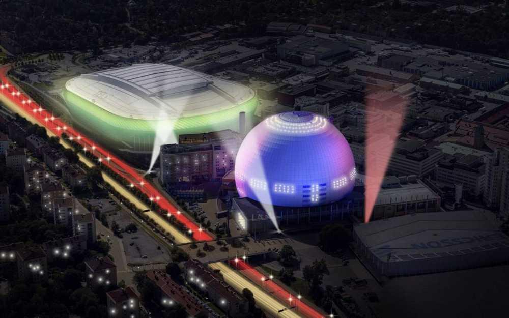 Globe Arena en Estocolmo, sede del Festival