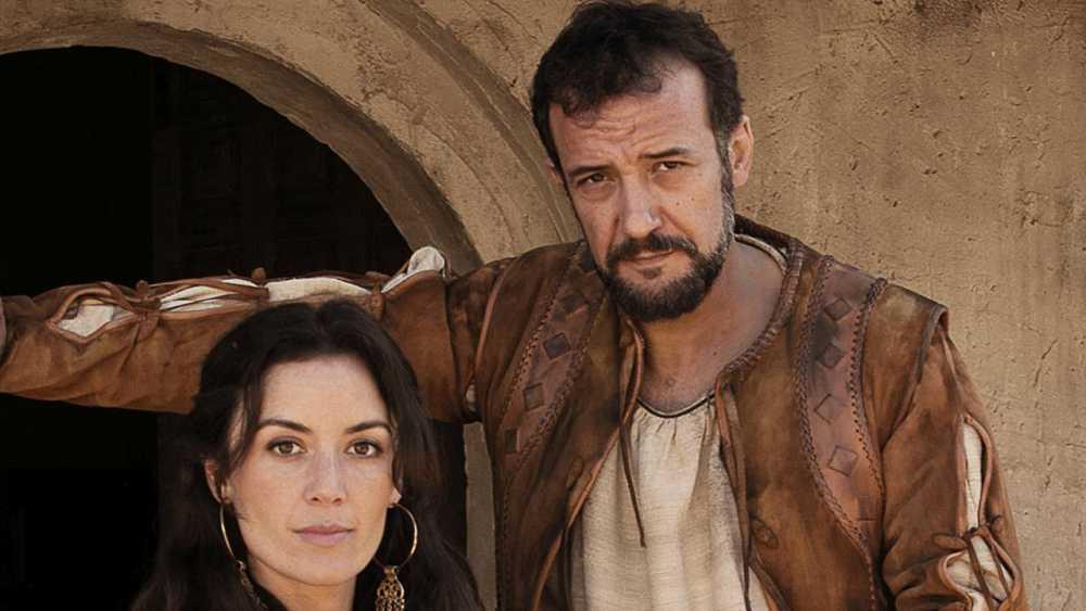 Hernán Cortés y su esposa Catalina Juárez