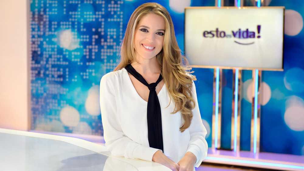 Cristina Lasvignes, la presentadora de 'Esto es Vida!'