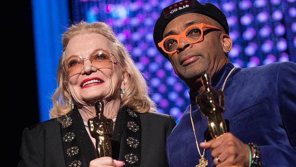 Spike Lee, Gena Rowlands y Debbie Reynolds, Oscars honoríficos