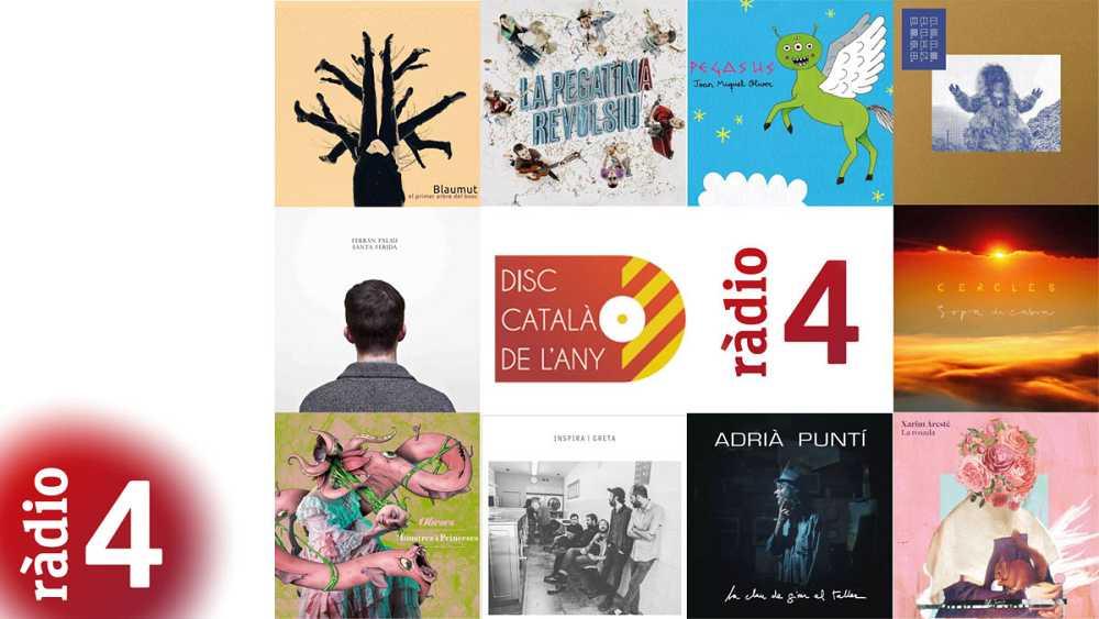 Vota el Disc Català de l'Any