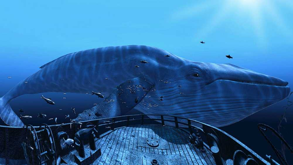 Imagen de 'The blu: Encounter', una de las experiencias realmente inmersivas que propone HTC Vive.