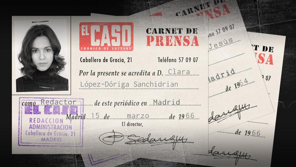 ¡Hazte tu propio carnet de prensa de El Caso!