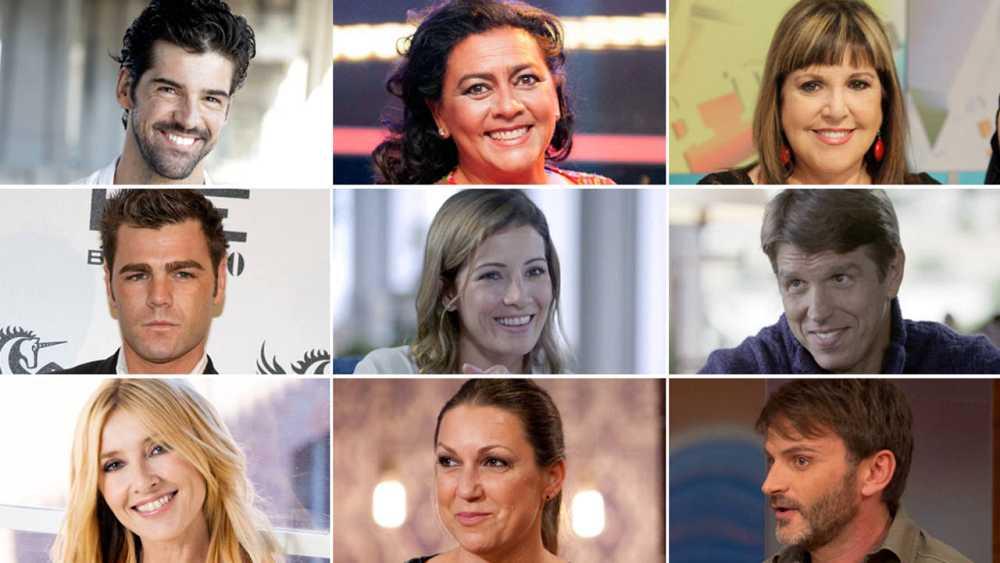 ¡Ya tenemos a los nueve famosos que participarán en MasterChef Celebrity!
