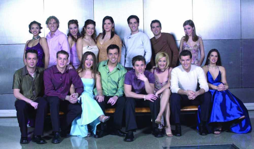Concursantes de la primera edición de 'Operación Triunfo' (año 2002)