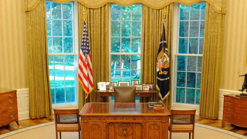 Imagen del despacho del presidente del Gobierno de Estados Unidos, el llamado Despacho Oval