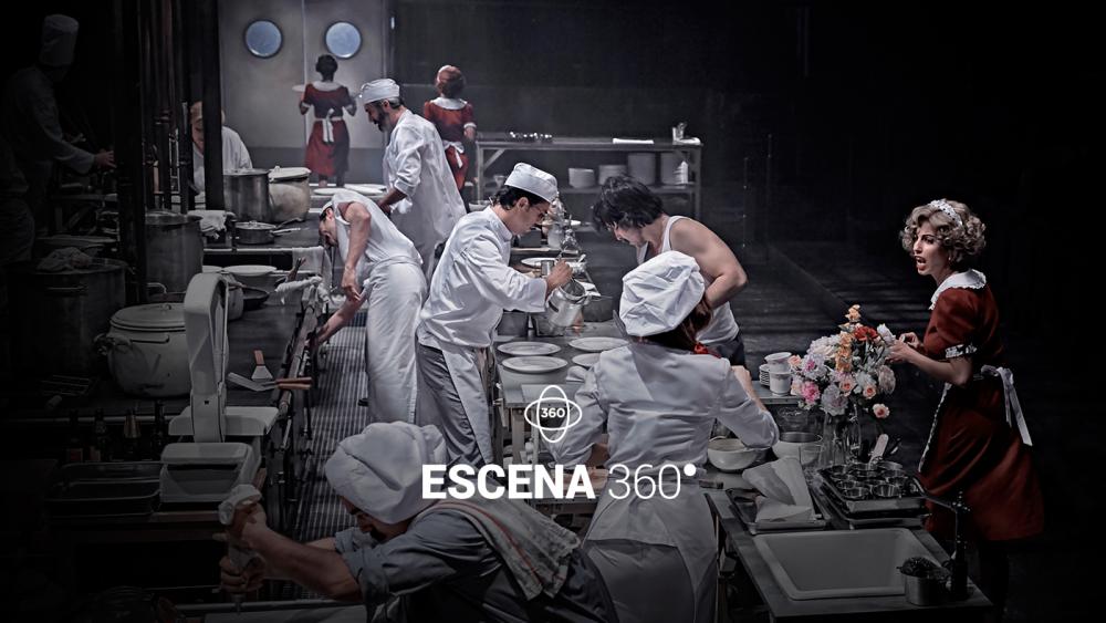 Escena 360: La cocina
