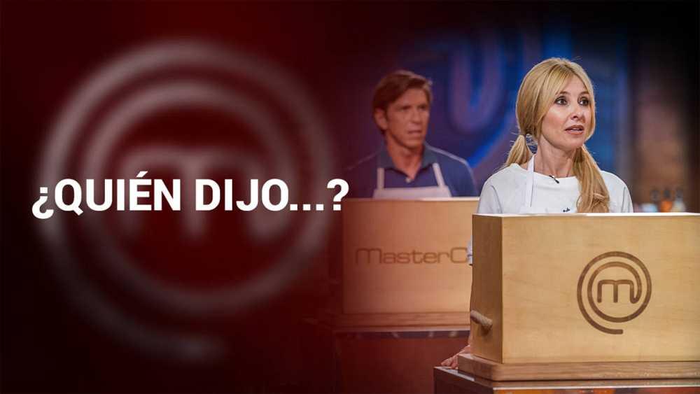 ¿Quién dijo qué en MasterChef Celebrity?