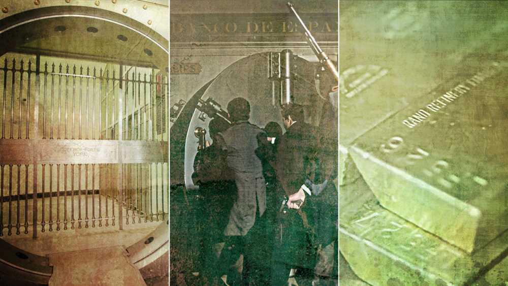 ¿Es posible asaltar la cámara de oro del Banco de España?