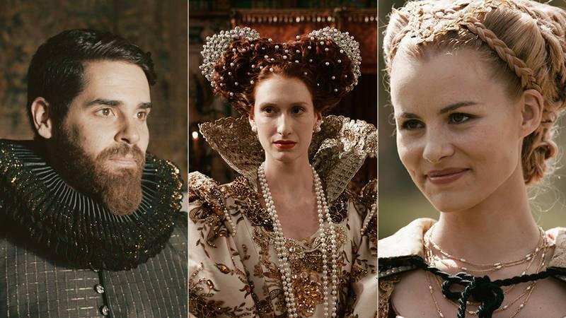 Los lujosos estilismos de 'Reinas': el poder de las joyas y el negro