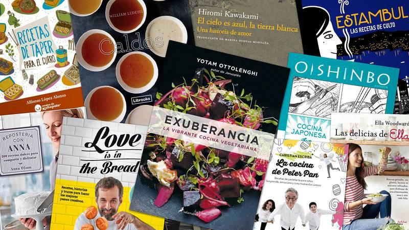 10 libros de cocina para regalar en Navidad